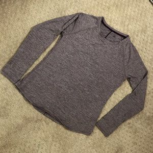 Long sleeve dry fit shirt